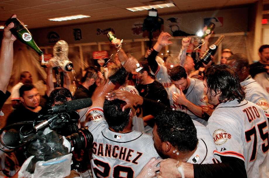 "The Giants: Many of you are grateful for your  world-champion baseball team. As Jon Wollenhaupt  said on Facebook: ""A second World Series in just three years! It brought more joy than any dedicated fan could reasonably expect."" Photo: Michael Macor, The Chronicle / ONLINE_YES"