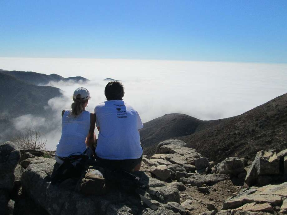 """The fog: Bay Area folks say they couldn't live without the atmospheric mood that drifts into The City many mornings and evenings. On Facebook Stephanie Guest said she loves """"Watching the fog pass below you after riding your bike up Mt. Diablo."""" Photo: Tom Stienstra, San Francisco Chronicle / ONLINE_YES"""