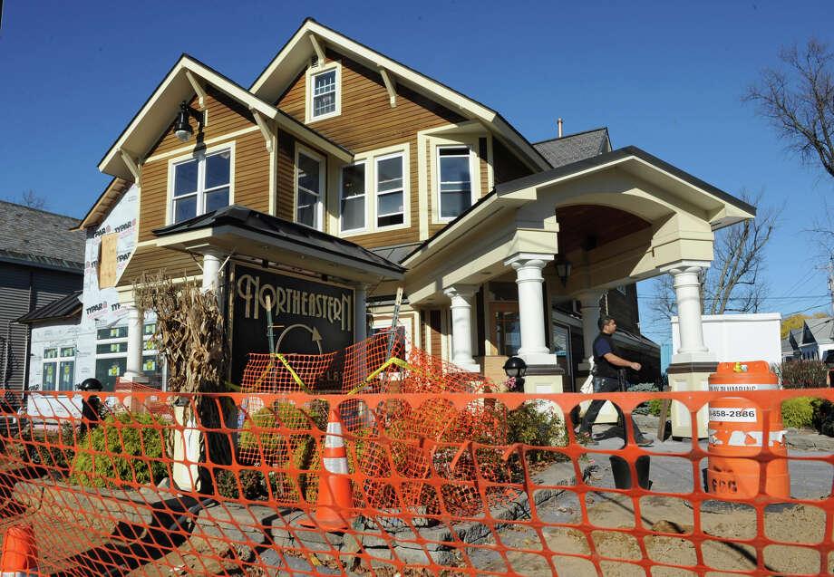 Construction on Northeastern Fine Jewelry building project on Union St. on Wednesday, Nov. 14, 2012 in Schenectady, N.Y.  (Lori Van Buren / Times Union) Photo: Lori Van Buren