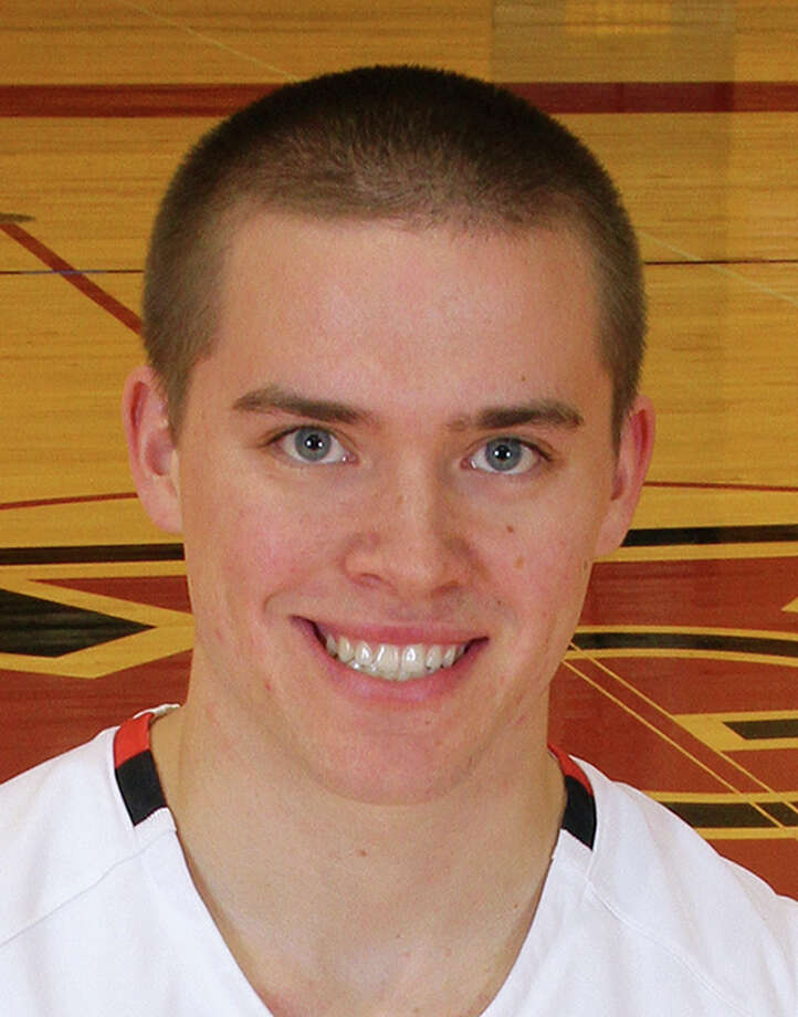In a photo, date unknown, provided by Grinnell College Athletics, Grinnell basketball player Jack Taylor poses for a photo in Grinnell, Iowa. Taylor, a point guard, scored 138 points for Division III Grinnell against Faith Baptist Bible on Tuesday night, Nov. 20, 2012, in Grinnell, shattering the NCAA scoring record. Grinnell won 179-104. (AP Photo/Grinnell College, Cory Hall) Photo: Cory Hall