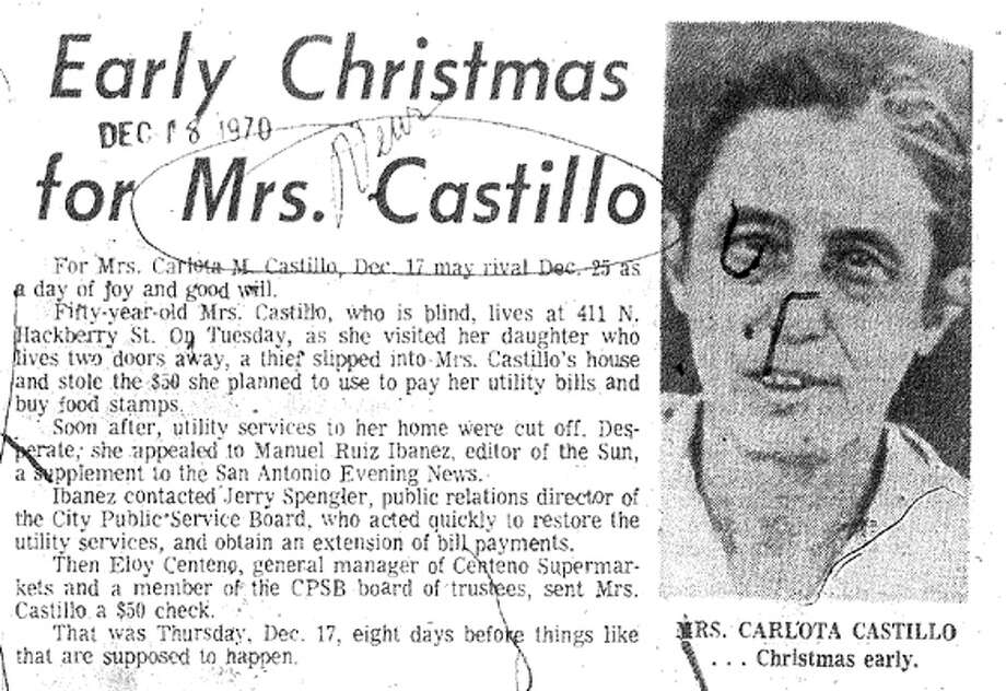 Article from Dec. 18, 1970, edition of the News.