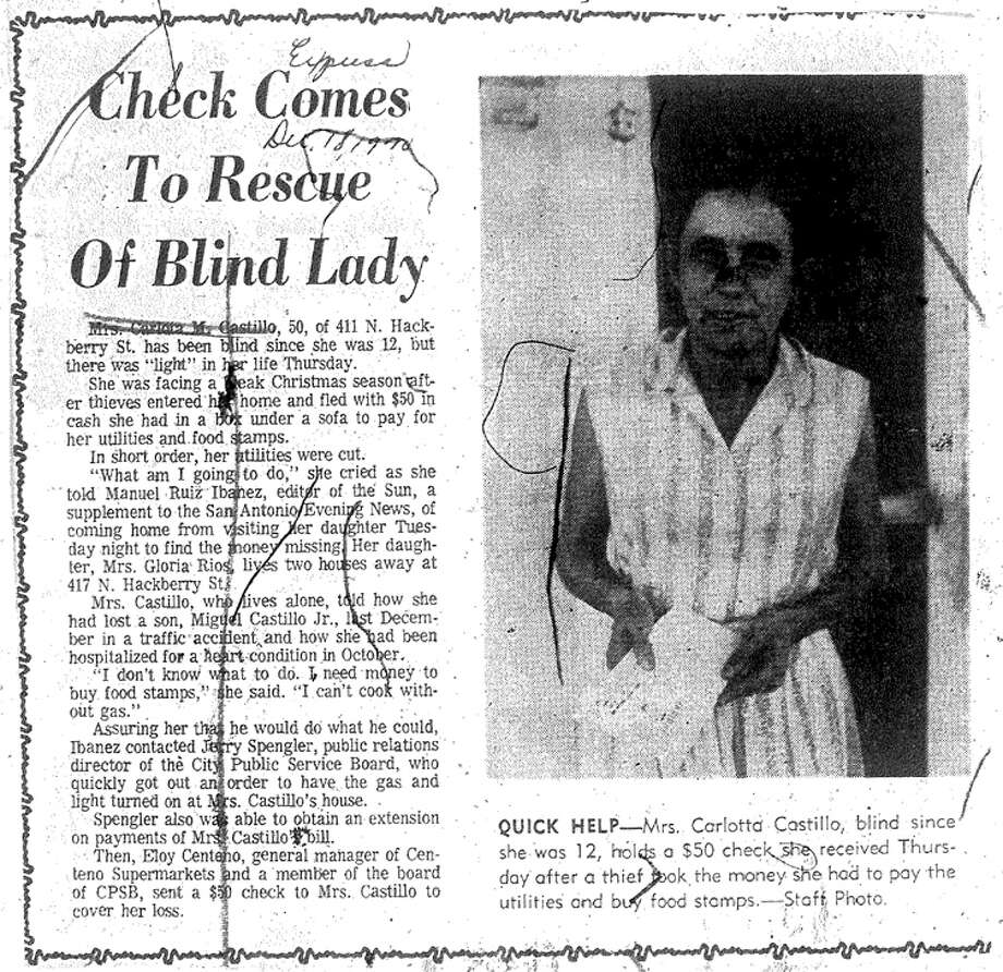 Article from Dec. 18, 1970, edition of the Express.