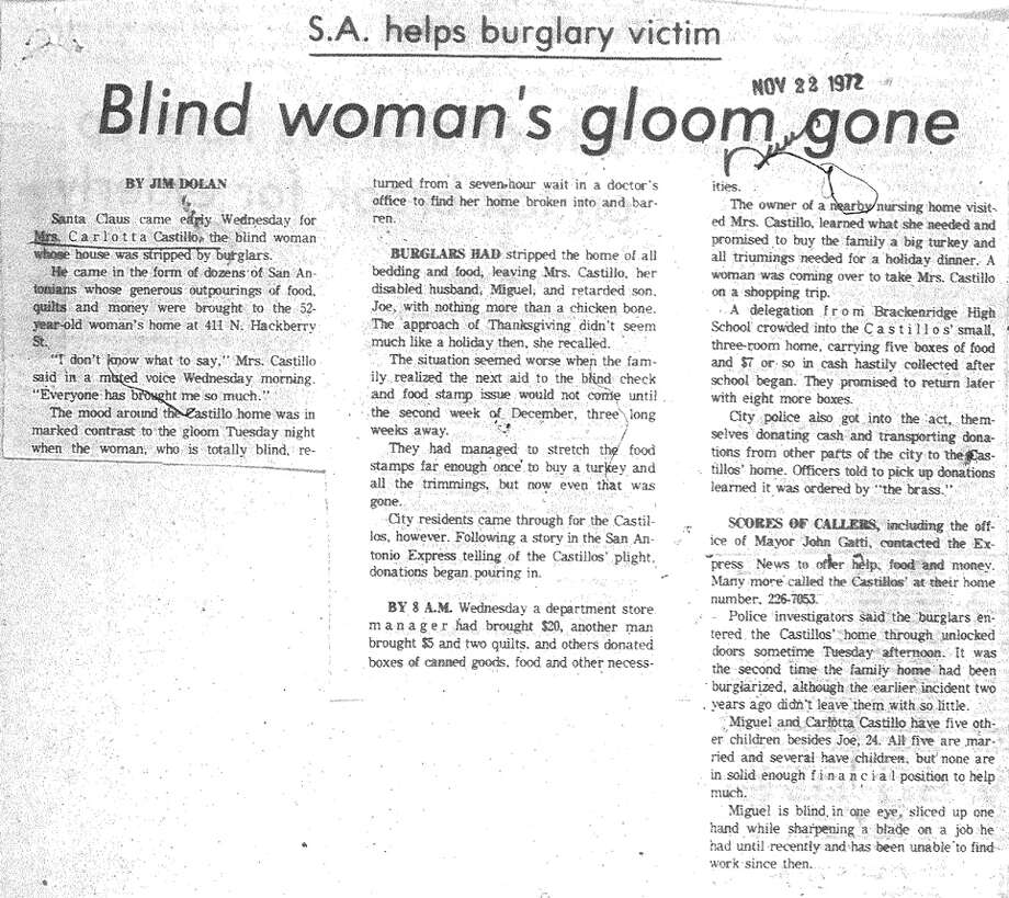 Article from Nov. 22, 1972 edition of the News.