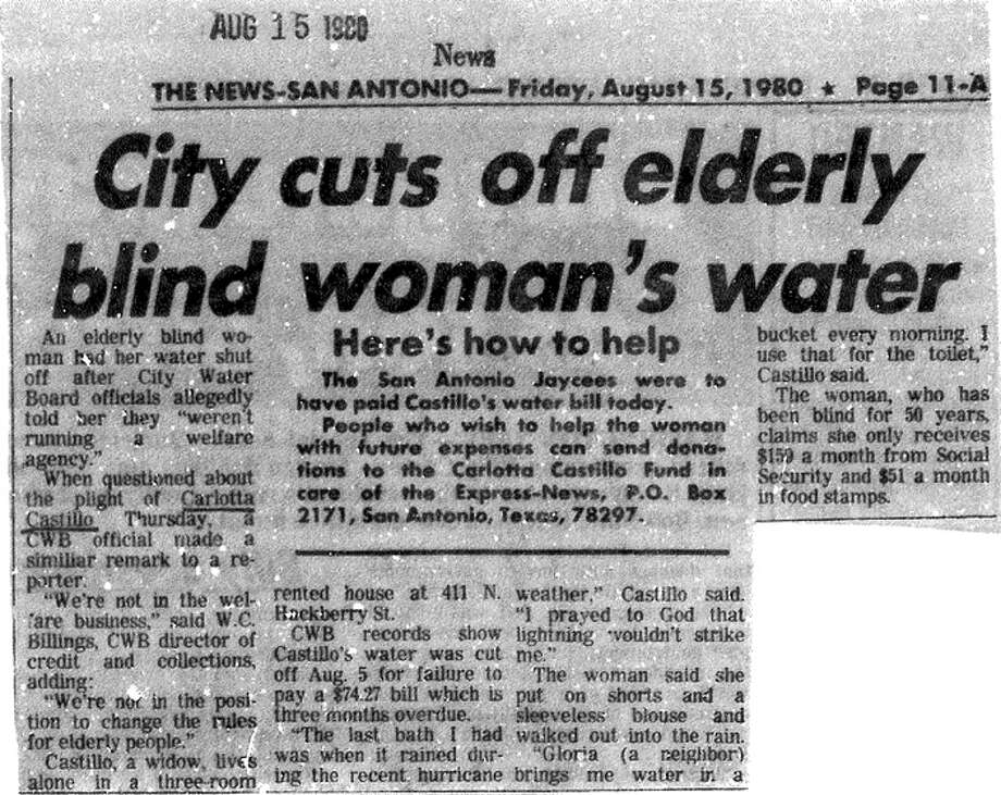 Article from Aug. 15, 1980, edition of the News.