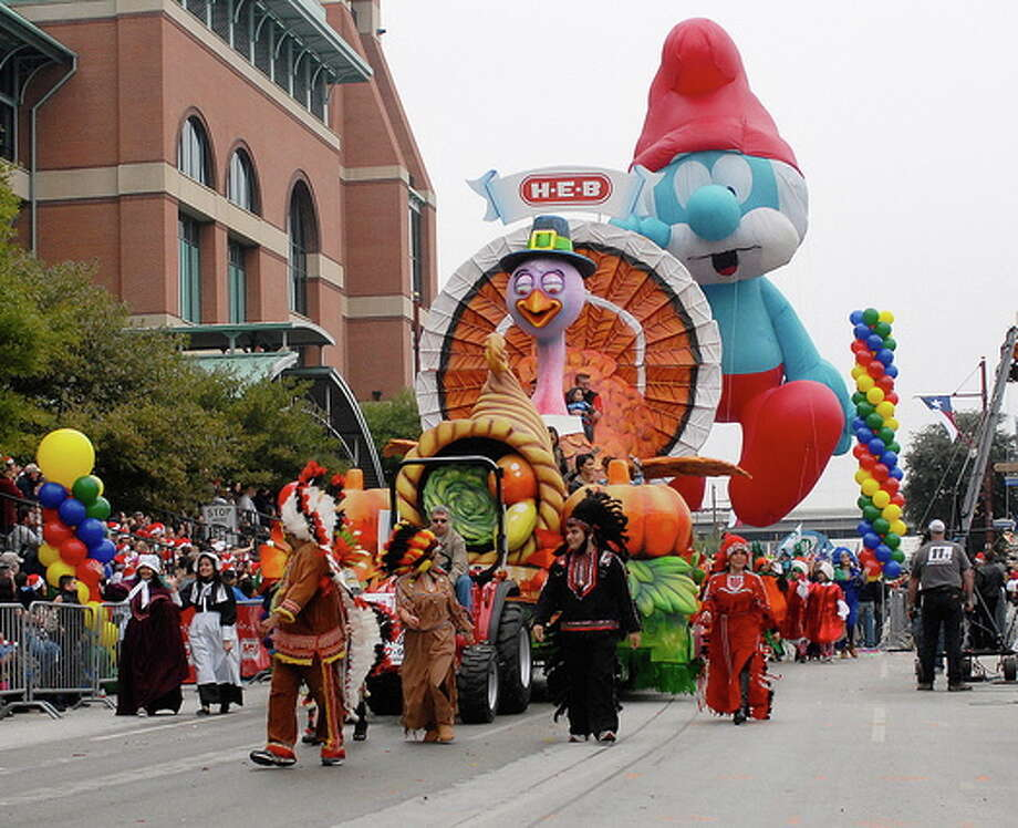 There will be plenty of helium for Houston's parade this year. Photo: Handout