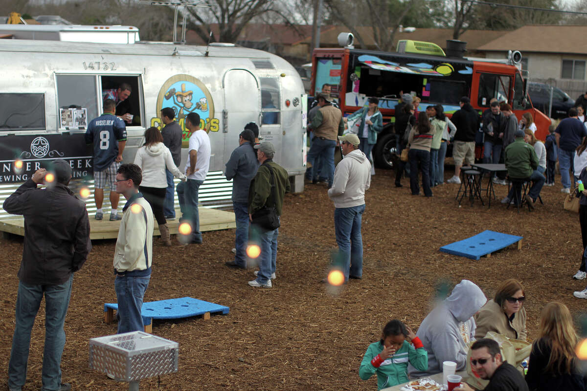 The city's first real food truck park, Boardwalk on Bulverde offers a rotating array of trucks and lots of special events. Boardwalk on Bulverde is located at 14732 Bulverde Road, between Loop 1604 and Thousand Oaks Drive; boardwalkonbulverde.com.