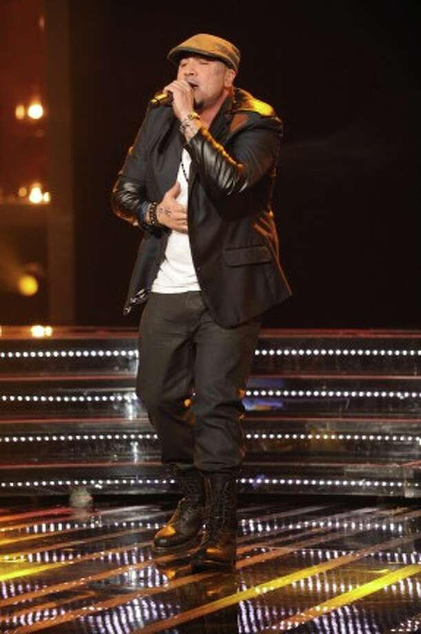 THE X FACTOR: Top 10 Perform: Vino Alan performs live on THE X FACTOR Wednesday, Nov. 21 (8:00-10:00 PM ET/PT) on FOX. CR: Ray Mickshaw / FOX (                                                      )