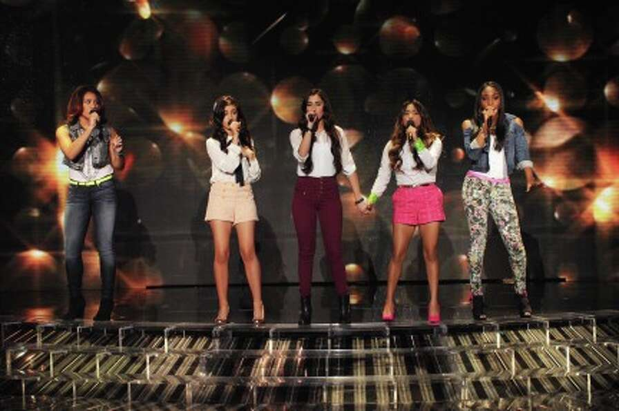 THE X FACTOR: Top 10 Perform: Fifth Harmony performs live on THE X FACTOR Wednesday, Nov. 21 (8:00-1