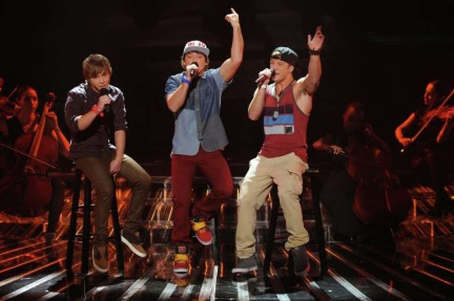 THE X FACTOR: Top 10 Perform: Emblem3 performs live on THE X FACTOR Wednesday, Nov. 21 (8:00-10:00 PM ET/PT) on FOX. CR: Ray Mickshaw / FOX (                                                      )