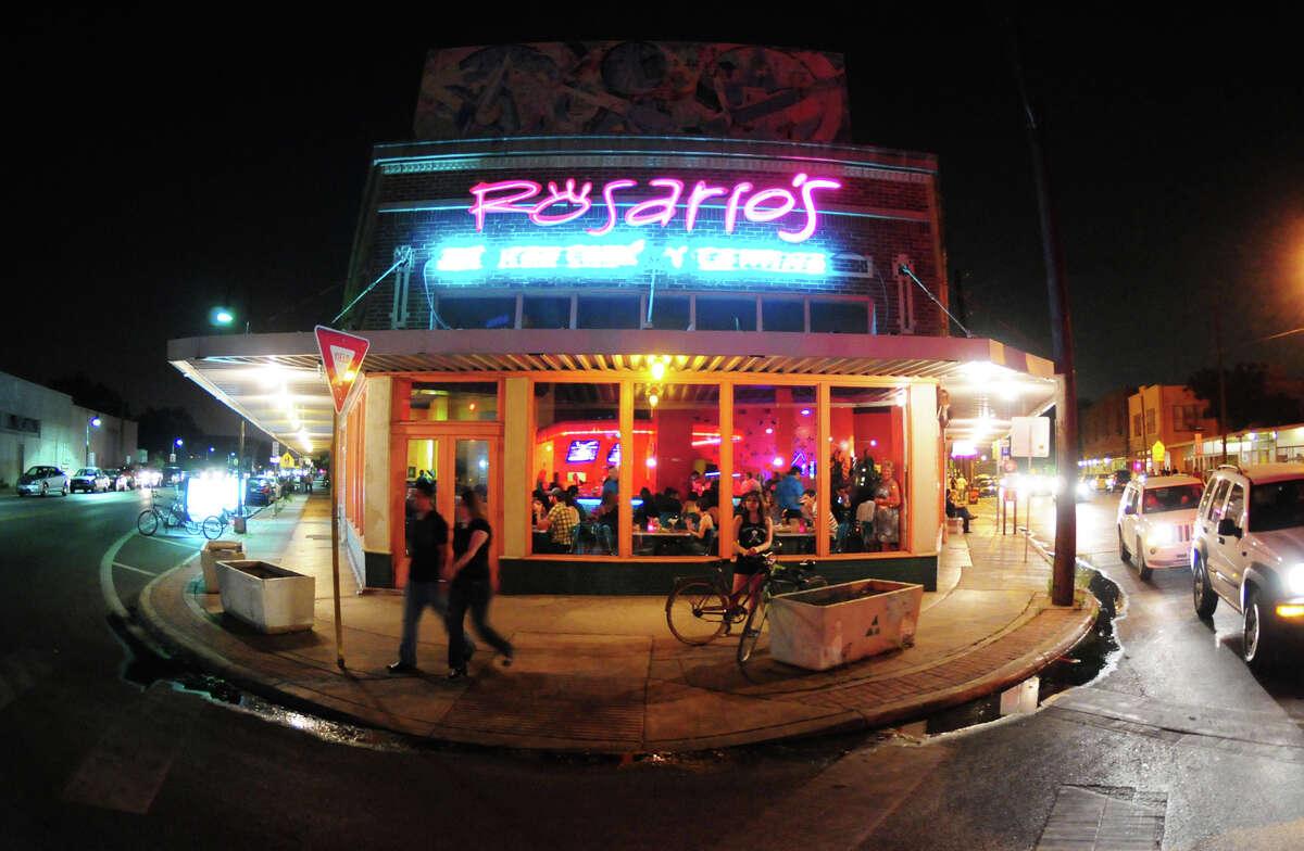 The area's pillars are upscale Tex-Mex restaurants Rosarios, 910 S. Alamo St., and