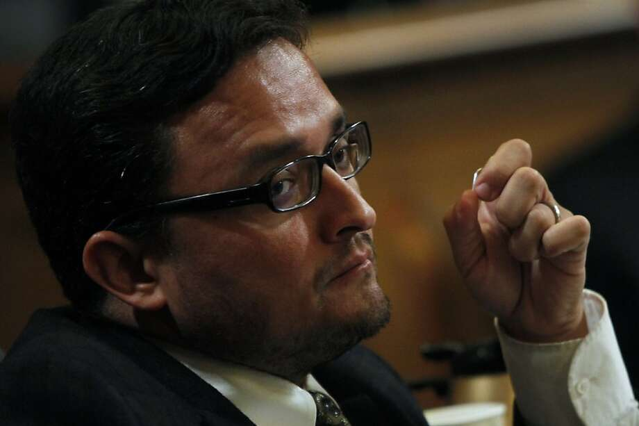 San Francisco Supervisor David Campos wants to let low-income youths ride Muni free. Photo: Sarah Rice, Special To The Chronicle