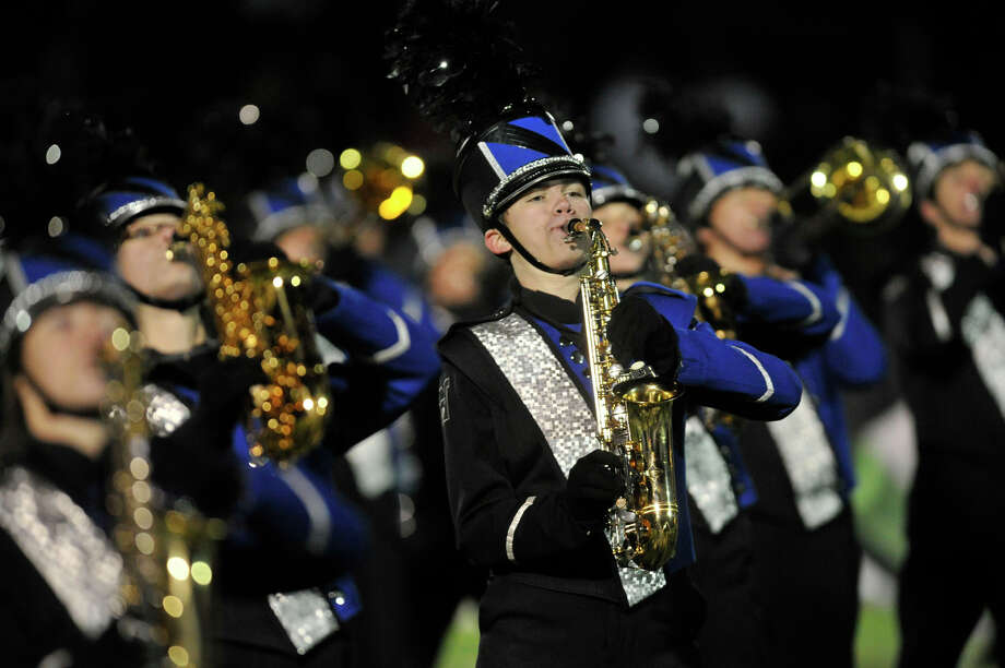 Scenes from the Masuk at Newtown football game at Newtown High School on Wednesday, Nov. 21, 2012. Photo: Jason Rearick / The News-Times