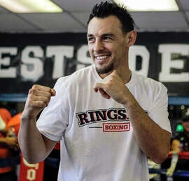 Robert Guerrero, shown in Los Angeles, is going to fight WBA welterweight champion Keith Thurman.