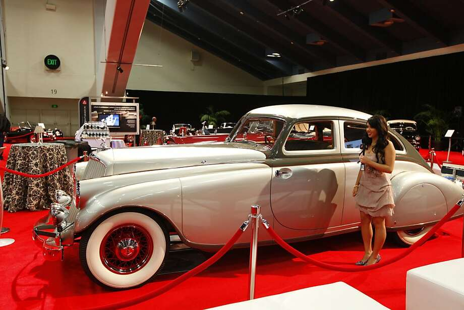 A 1933 Pierce-Arrow Silver Arrow owned by the Academy of Art University at the 55th Annual International Auto Show at the Moscone Center in San Francisco, California, on Wednesday, November 21, 2012. Photo: Craig Lee, Special To The Chronicle