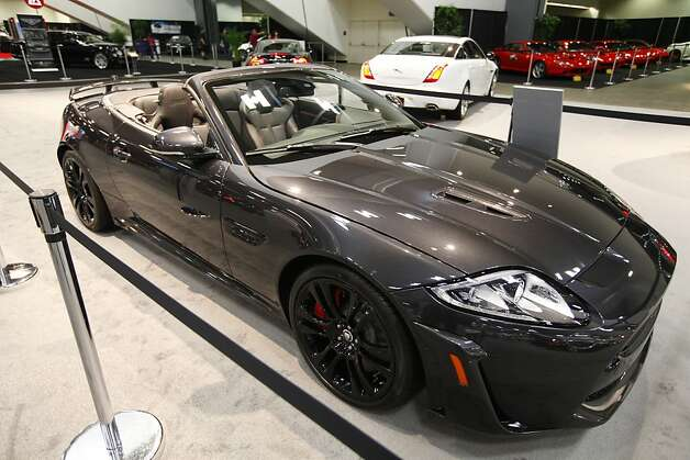 The Jaguar XKR-S Convertible Range car at the 55th Annual International Auto Show at the Moscone Center in San Francisco, California, on Wednesday, November 21, 2012. The show is open to the public Thursday November 22 through Monday, November 26. Photo: Craig Lee, Special To The Chronicle