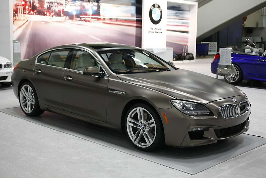 The 2013 BMW 650i Gran Coupe at the 55th Annual International Auto Show at the Moscone Center in San Francisco, California, on Wednesday, November 21, 2012. The show is open to the public Thursday November 22 through Monday, November 26. Photo: Craig Lee, Special To The Chronicle