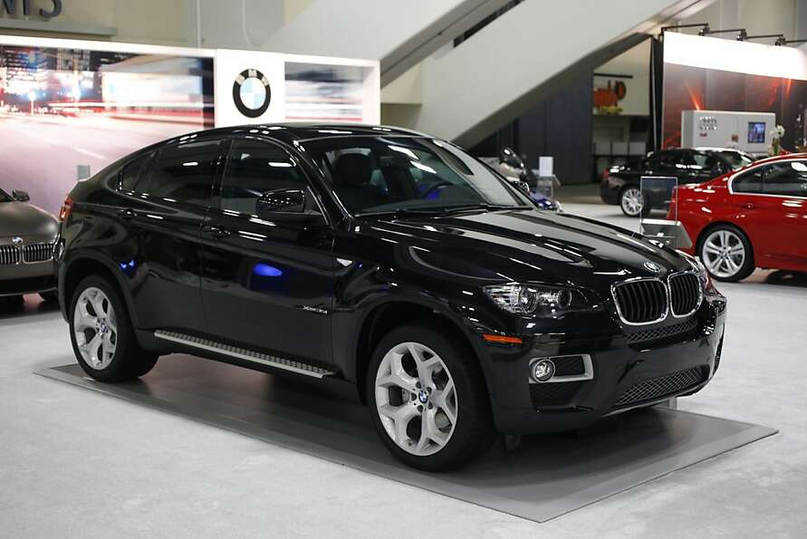 The 2013 BMW X6 xDrive35i at the 55th Annual International Auto Show at the Moscone Center in San Fr