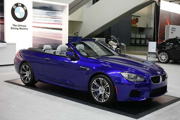 The 2013 BMW M6 Convertible at the 55th Annual International Auto Show at the Moscone Center in San Francisco, California, on Wednesday, November 21, 2012. The show is open to the public Thursday, November 22 through Monday, November 26. Photo: Craig Lee, Special To The Chronicle
