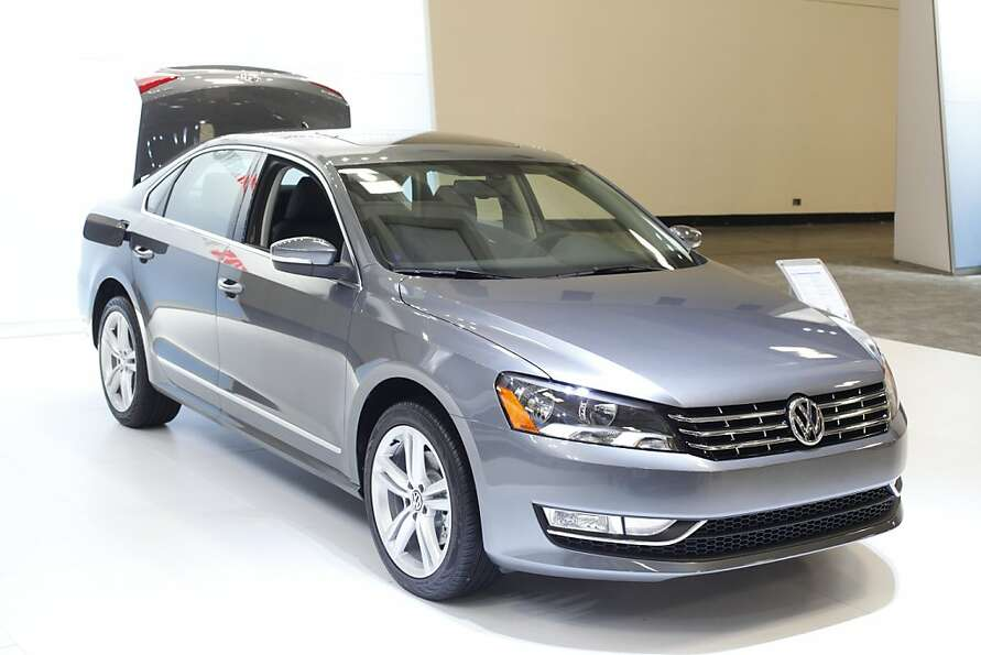 A 2013 Volkswagon Passat TDI SEL Premium at the 55th Annual International Auto Show at the Moscone C