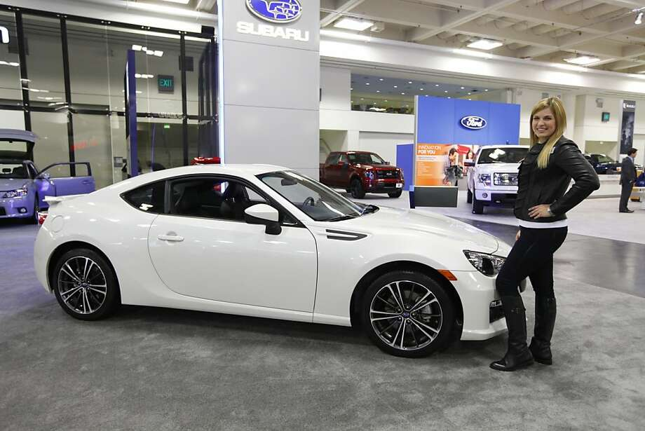A 2013 Subaru BRZ at the 55th Annual International Auto Show at the Moscone Center in San Francisco, California, on Wednesday, November 21, 2012. The show is open to the public Thursday, November 22 through Monday, November 26. Photo: Craig Lee, Special To The Chronicle
