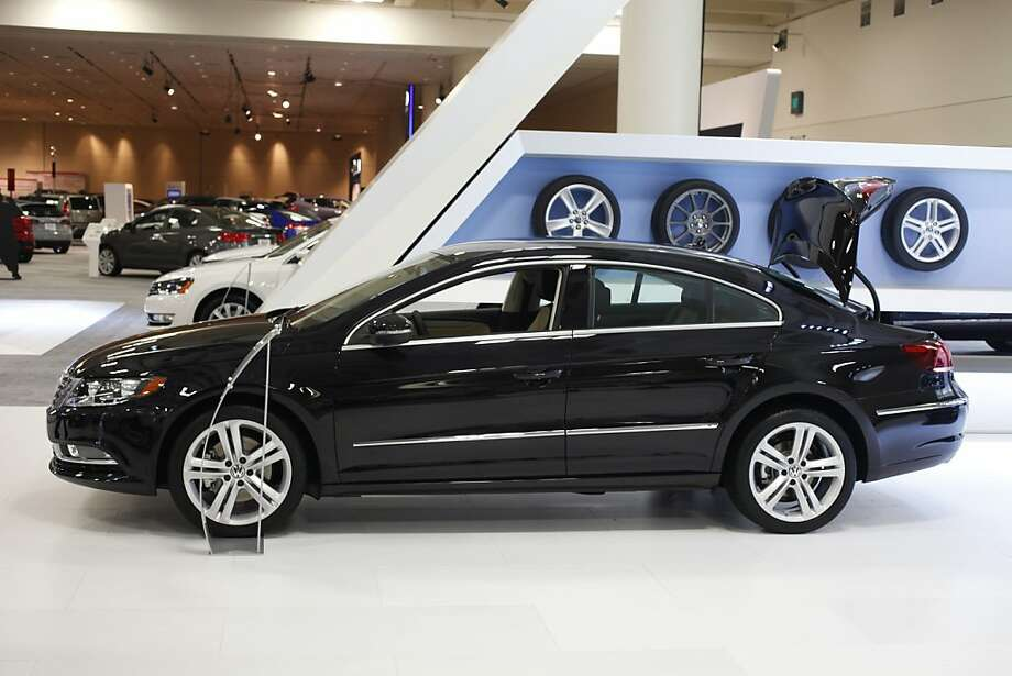 A 2013 Volkswagon CC Sport Plus at the 55th Annual International Auto Show at the Moscone Center in San Francisco, California, on Wednesday, November 21, 2012. The show is open to the public Thursday, November 22 through Monday, November 26. Photo: Craig Lee, Special To The Chronicle