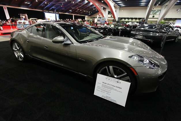 A 2012 Fisker Karma at the 55th Annual International Auto Show at the Moscone Center in San Francisco, California, on Wednesday, November 21, 2012. The show is open to the public Thursday, November 22 through Monday, November 26. Photo: Craig Lee, Special To The Chronicle