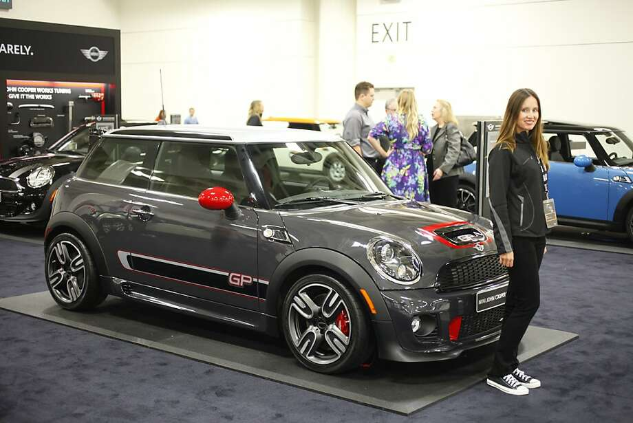 2013 Mini John Cooper Works GP at the 55th Annual International Auto Show at the Moscone Center in San Francisco, California, on Wednesday, November 21, 2012. The show is open to the public Thursday, November 22 through Monday, November 26. Photo: Craig Lee, Special To The Chronicle