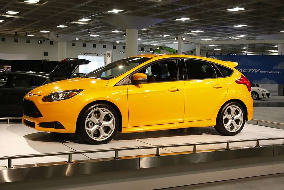 A 2013 Ford Focus ST at the 55th Annual International Auto Show at the Moscone Center in San Francisco, California, on Wednesday, November 21, 2012. The show is open to the public Thursday, November 22 through Monday, November 26. Photo: Craig Lee, Special To The Chronicle