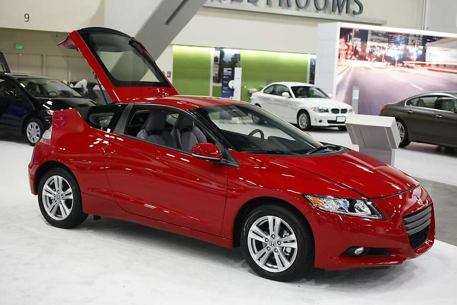 A 2012 Honda CR-Z at the 55th Annual International Auto Show at the Moscone Center in San Francisco, California, on Wednesday, November 21, 2012. The show is open to the public Thursday November, 22 through Monday, November 26. Photo: Craig Lee, Special To The Chronicle