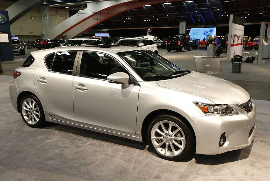 The Lexus CT 200h hybrid car at the 55th Annual International Auto Show at the Moscone Center in San Francisco, California, on Wednesday, November 21, 2012.The show is open to the public Thursday, November 22 through Monday, November 26. Photo: Craig Lee, Special To The Chronicle