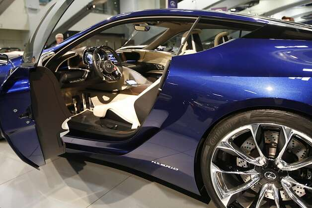 Lexus LF-LC Hybrid Sport Coupe Concept car at the 55th Annual International Auto Show at the Moscone Center in San Francisco, California, on Wednesday, November 21, 2012. The show is open to the public Thursday, November 22 through Monday, November 26. Photo: Craig Lee, Special To The Chronicle
