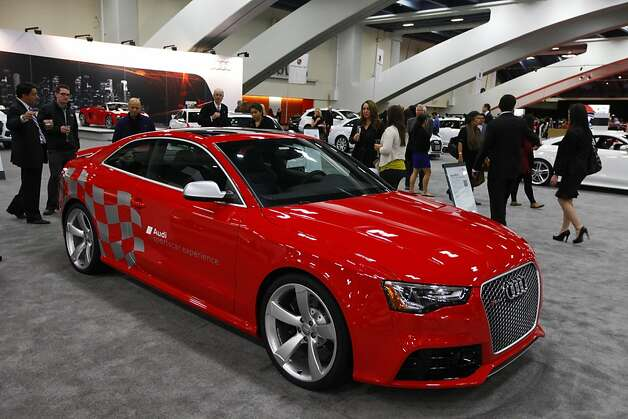 2013 Audi RS 5 at the 55th Annual International Auto Show at the Moscone Center in San Francisco, California, on Wednesday, November 21, 2012. The show is open to the public Thursday, November 22 through Monday, November 26. Photo: Craig Lee, Special To The Chronicle