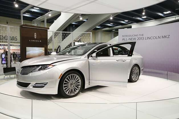 2013 Lincoln MKZ at the 55th Annual International Auto Show at the Moscone Center in San Francisco, California, on Wednesday, November 21, 2012.  The show is open to the public Thursday, November 22 through Monday, November 26. Photo: Craig Lee, Special To The Chronicle