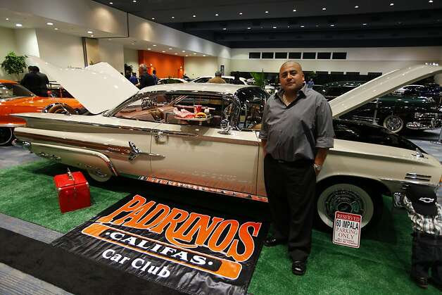 A 1960 Chevrolet Impala owned by Alex Villar at the 55th Annual International Auto Show at the Moscone Center in San Francisco, California, on Wednesday, November 21, 2012. Photo: Craig Lee, Special To The Chronicle