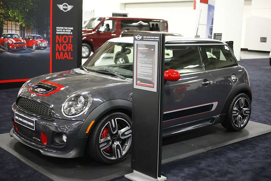2013 Mini John Cooper Works GP at the 55th Annual International Auto Show at the Moscone Center in San Francisco, California, on Wednesday, November 21, 2012. Photo: Craig Lee, Special To The Chronicle