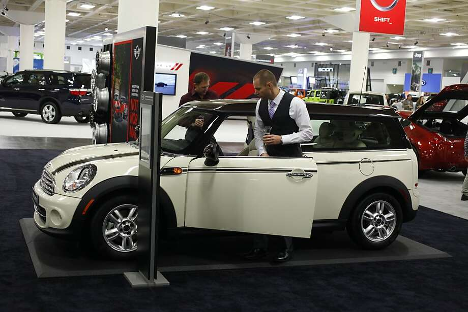 2013 Mini Cooper Clubman at the 55th Annual International Auto Show at the Moscone Center in San Francisco, California, on Wednesday, November 21, 2012. The show is open to the public Thursday, November 22 through Monday, November 26. Photo: Craig Lee, Special To The Chronicle
