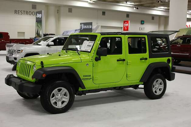 2013 Jeep Wrangler Unlimited Sport 4x4  at the 55th Annual International Auto Show at the Moscone Center in San Francisco, California, on Wednesday, November 21, 2012. The show is open to the public Thursday, November 22 through Monday, November 26. Photo: Craig Lee, Special To The Chronicle