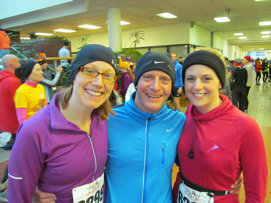 Were you Seen with more than 6,000 participants at the 65th annual Troy Turkey Trot on Thursday, Nov. 22, 2012? Photo: Kristi Gustafson Barlette/Times Union