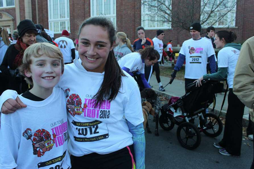 Were you Seen at the Turkey Trot in Bethlehem, a fundraiser for the Bethlehem Food Pantry, on Nov. 2