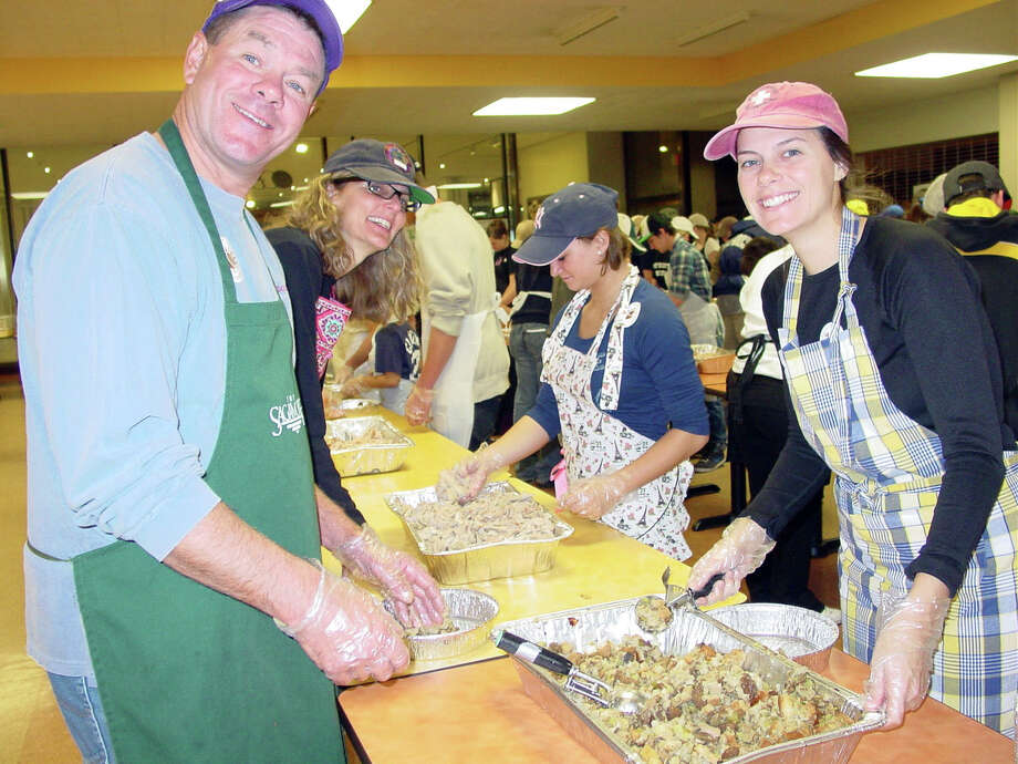 Were you Seen helping with the annual Equinox Thanksgiving Day Community Dinner at the Empire State Plaza in Albany on Thursday, Nov. 22, 2012? Photo: Riley Dixon