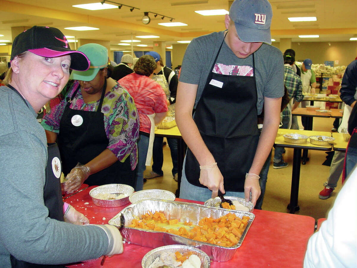Were you Seen helping with the annual Equinox Thanksgiving Day Community Dinner at the Empire State Plaza in Albany on Thursday, Nov. 22, 2012?
