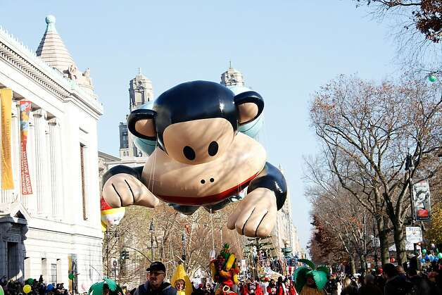 Atmosphere at the 86th Annual Macy's Thanksgiving Day Parade on November 22, 2012 in New York City. Photo: Laura Cavanaugh, Getty Images