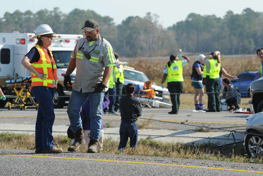 Heavy fog and speeders are said to be the causes of the wreck that involved more than 100 cars. Several tractor trailers, a thanker truck and bus were also involved in the pile up. 