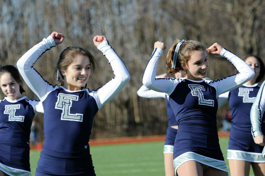 Fairfield Ludlowe high school vs Fairfield Warde high school in the annual Thanksgiving Day football game played this year at Fairfield Warde high school, Fairfield, CT Thursday November 22nd, 2012. Photo: Mark Conrad / Connecticut Post Freelance