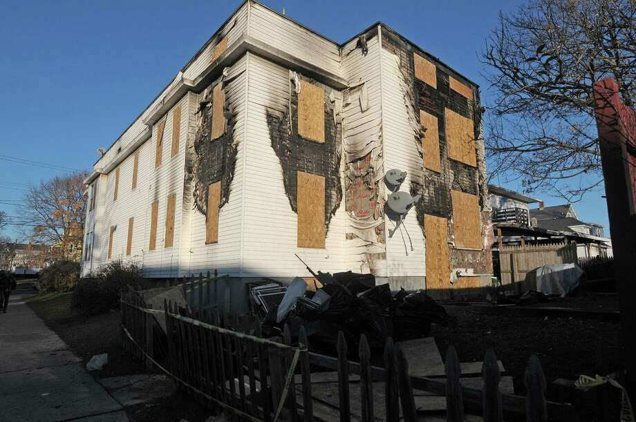 A view of the apartment building located at 108 Southern Blvd. seen here on Thursday, Nov. 22, 2012 in Albany, NY.  A fire broke out at the apartment on early Thursday morning.   (Paul Buckowski / Times Union) Photo: Paul Buckowski
