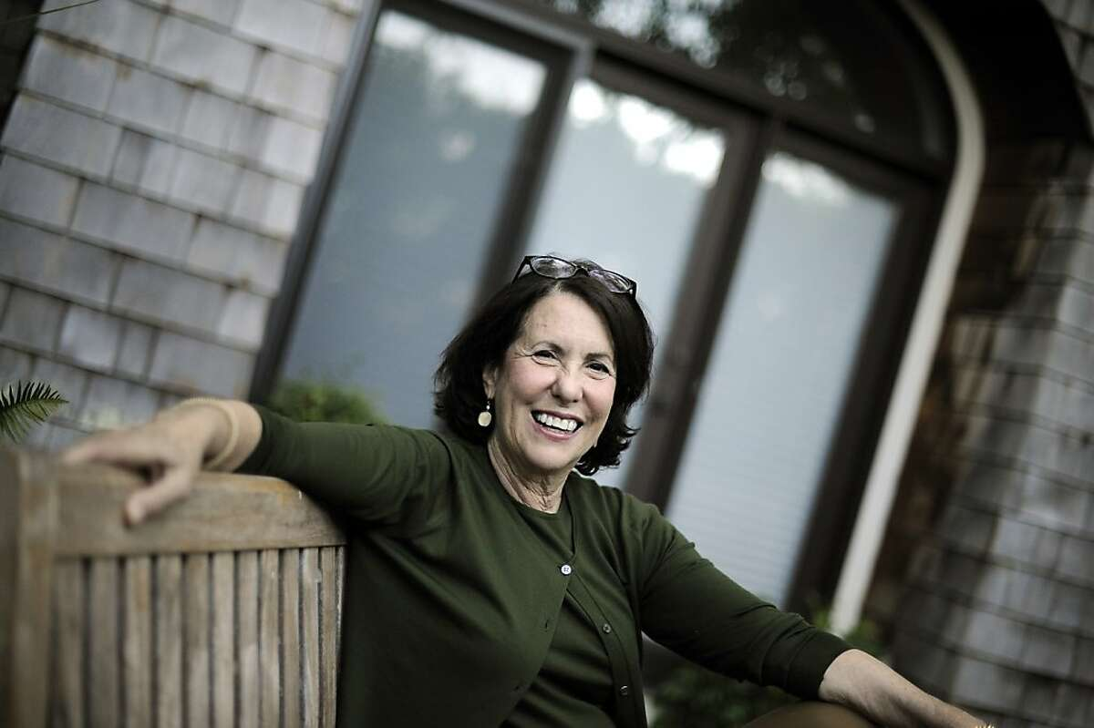 Child psychologist and best selling author Madeline Levine poses for a portrait at her home in Kentfield, CA Monday October 1st, 2012.