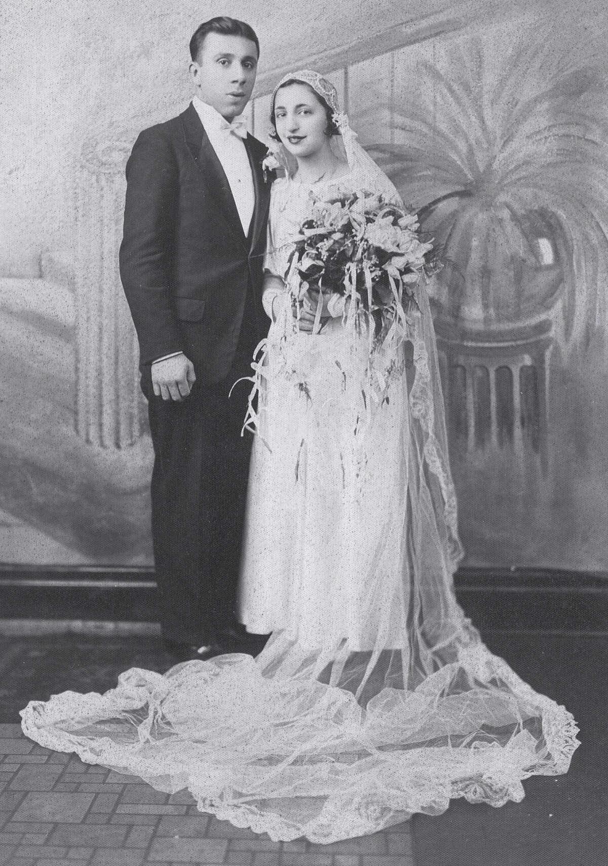 A wedding portrait of Fairfielders John and Ann Betar taken 80 years ago. Fairfield CT 11/15/12