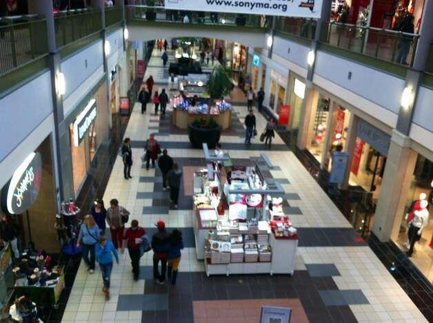 Shoppers look for bargains early Friday morning at Crossgates Mall in Guilderland Skip Dickstein/Times Union