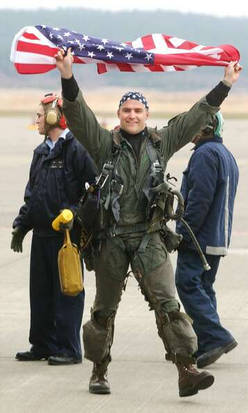 Who: Navy Lt. Matt Kaslik. Where: Oak Harbor, Wash. When: Jan. 18, 2002. Details: He spent six month