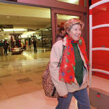 Roberta Hall, of West Haven,  shops at the Westfield Connecticut Post Mall in Milford, Conn. on Friday, November 23, 2012.